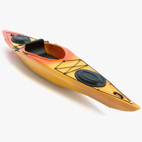 3D kayak