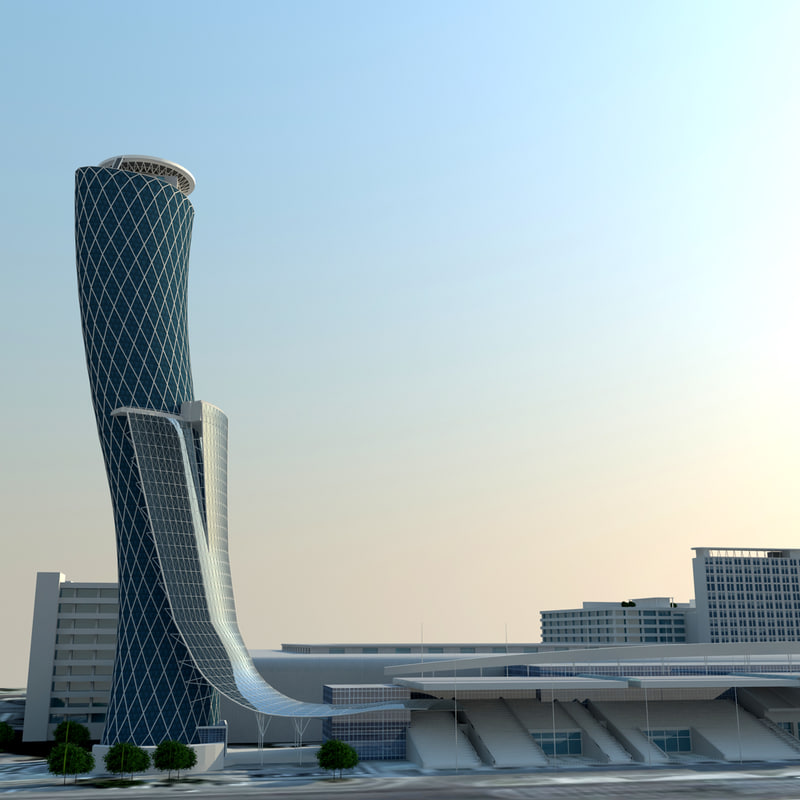 capital gate buildings model