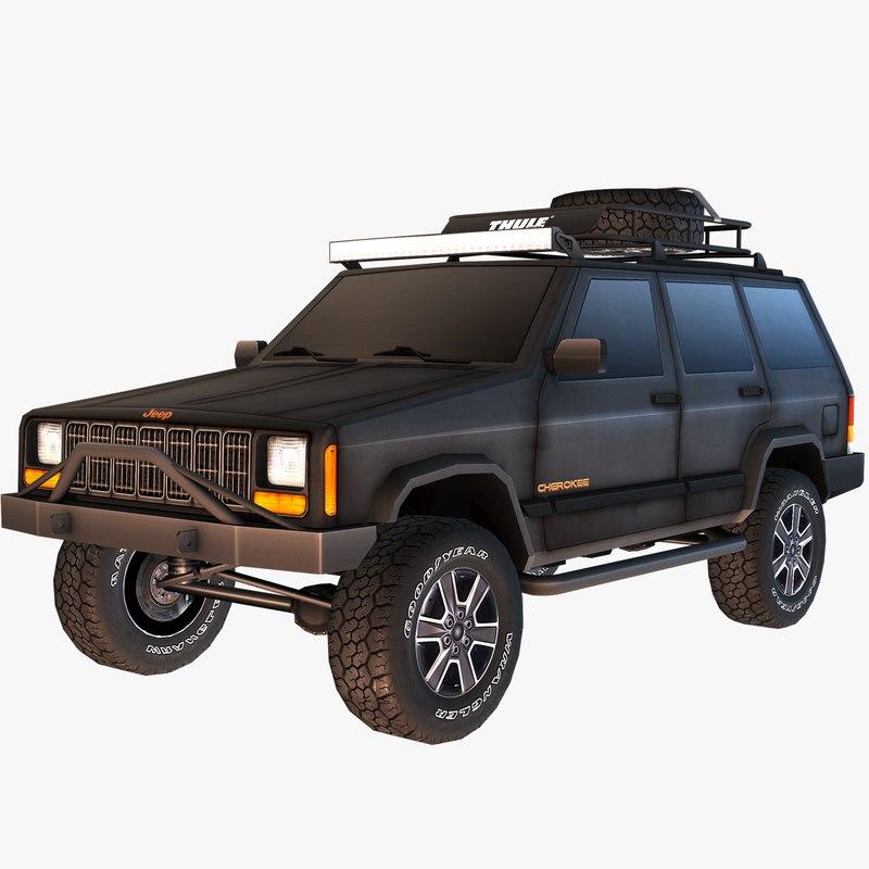 Jeep Cherokee Overland Build