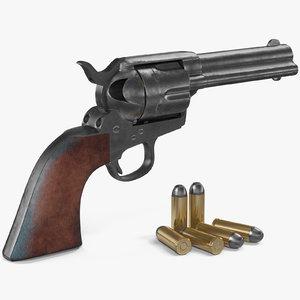 colt 1873 single action 3D model