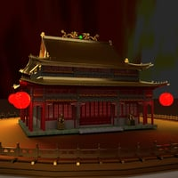 3D chinese ancient