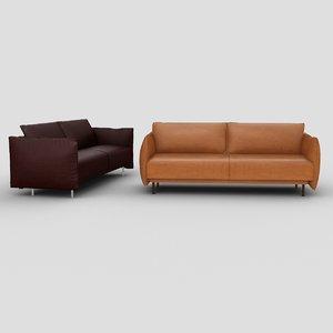 3D sofa graffiti dream model