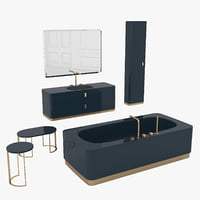 3D bathroom set tailor