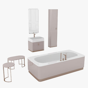 bathroom set tailor 3D