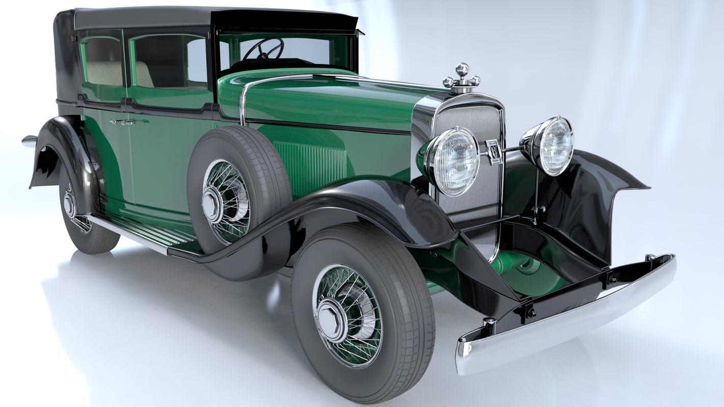 3d Gangsters 1928 Cadillac V 8 Model