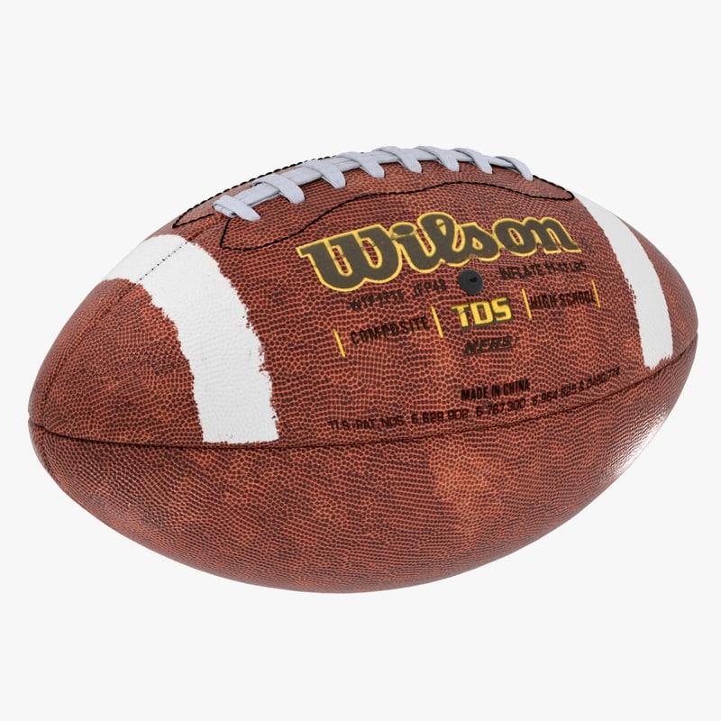 american football 3D