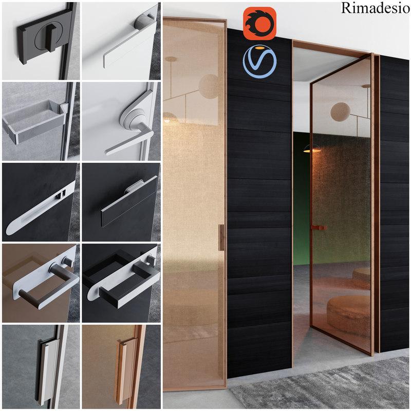 3D rimadesio doors - office