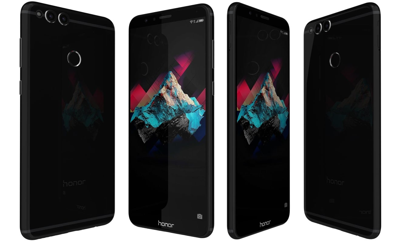 huawei honor 7x black model