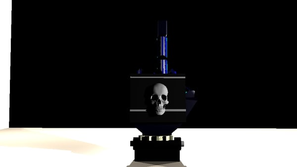 robot hand 3D model