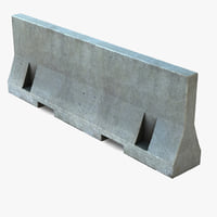 Concrete Barrier Road