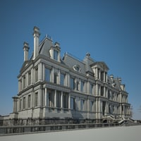 3d house chateau