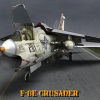 crusader poser 3D model