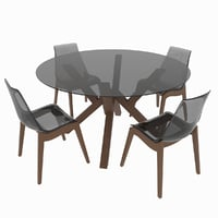 Dining set Calligaris Mikado table and chairs