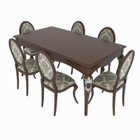 Dining set Giorgio - Memorie Venezia table and chairs