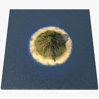 3D mount island