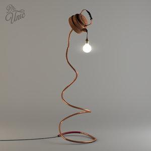 teapot lamp 3D