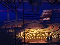 3D jedi council chamber star wars