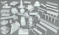 Factory Units-part-1 - 32 pieces