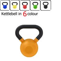 3D kettlebell bell