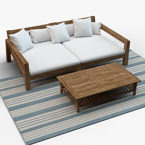 lars daybed 3D