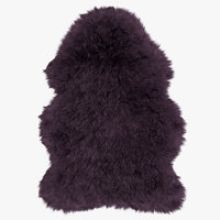 wool sheepskin rug 3D