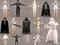 3D storm trooper star wars