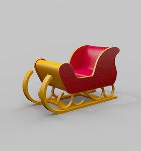 3D sledge car