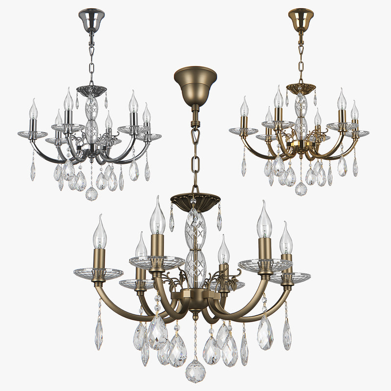 3D model chandelier stregaro osgona