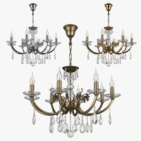 3D chandelier stregaro osgona