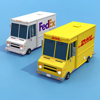 vehicle transport 3D model