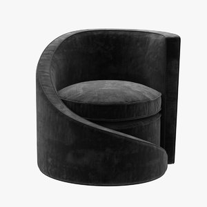 3D chair seat spiral lounge