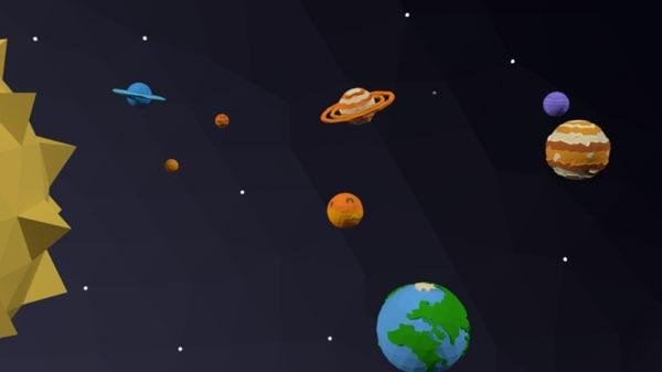 solar games 3D model