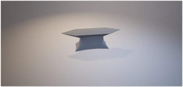 low-poly anvil ready - 3D model