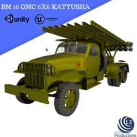 3D gmc bm 16