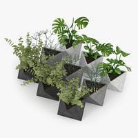 3D plant concrete model