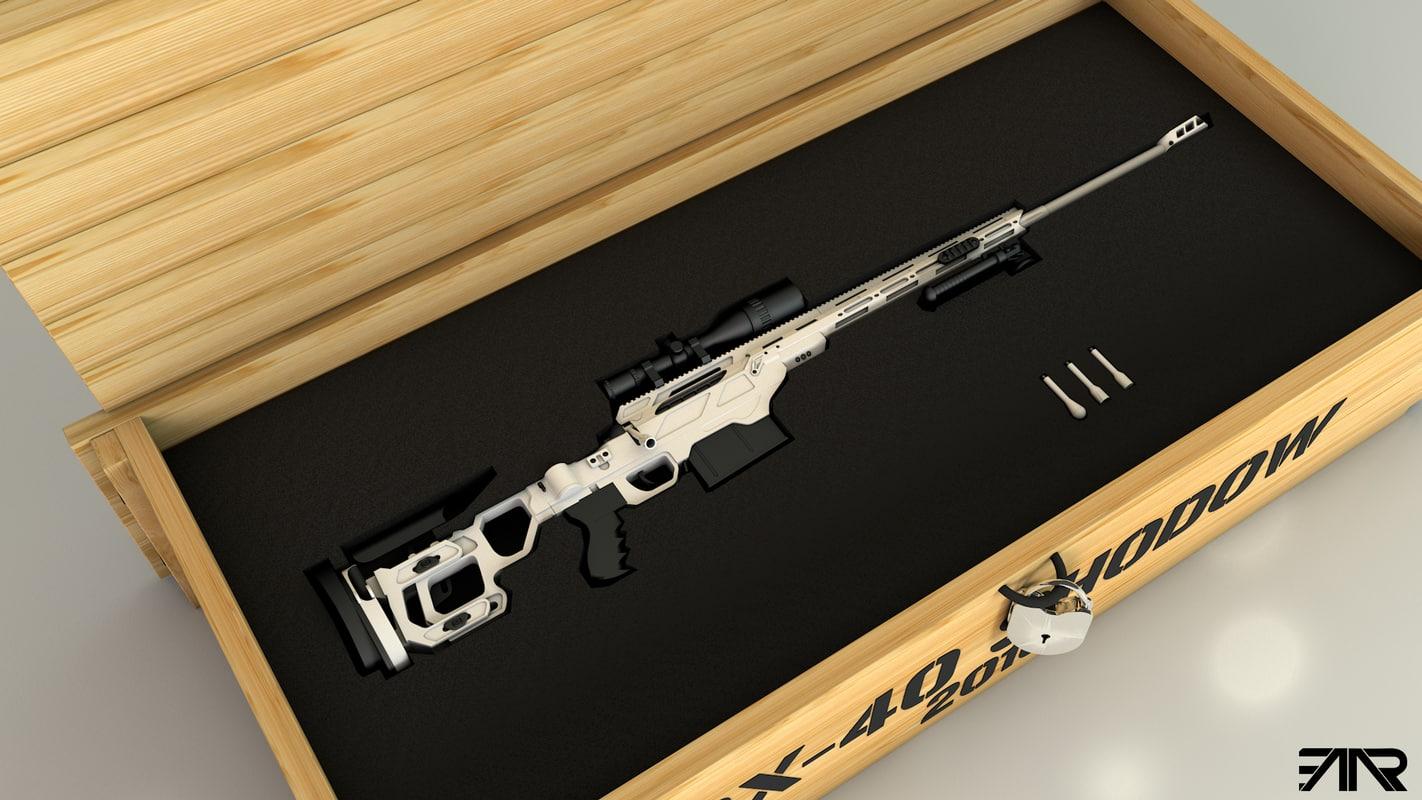 cdx-40 shodow 3D