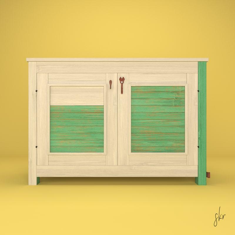3D habana cabinet italian
