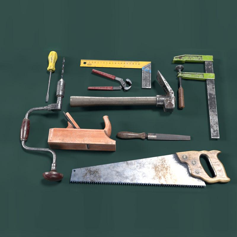 3D carpentery tools