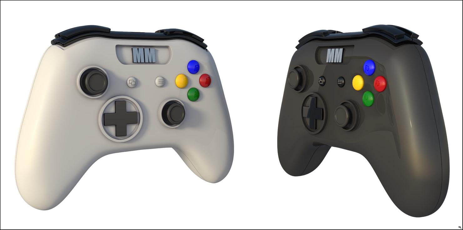 controller gamepad 3D model