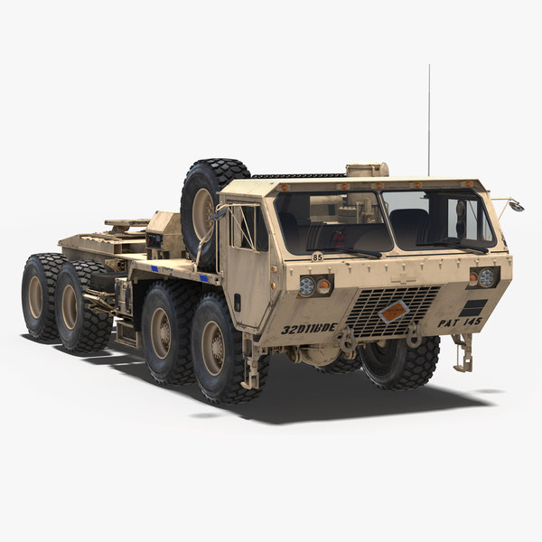 military truck oshkosh hemtt 3D