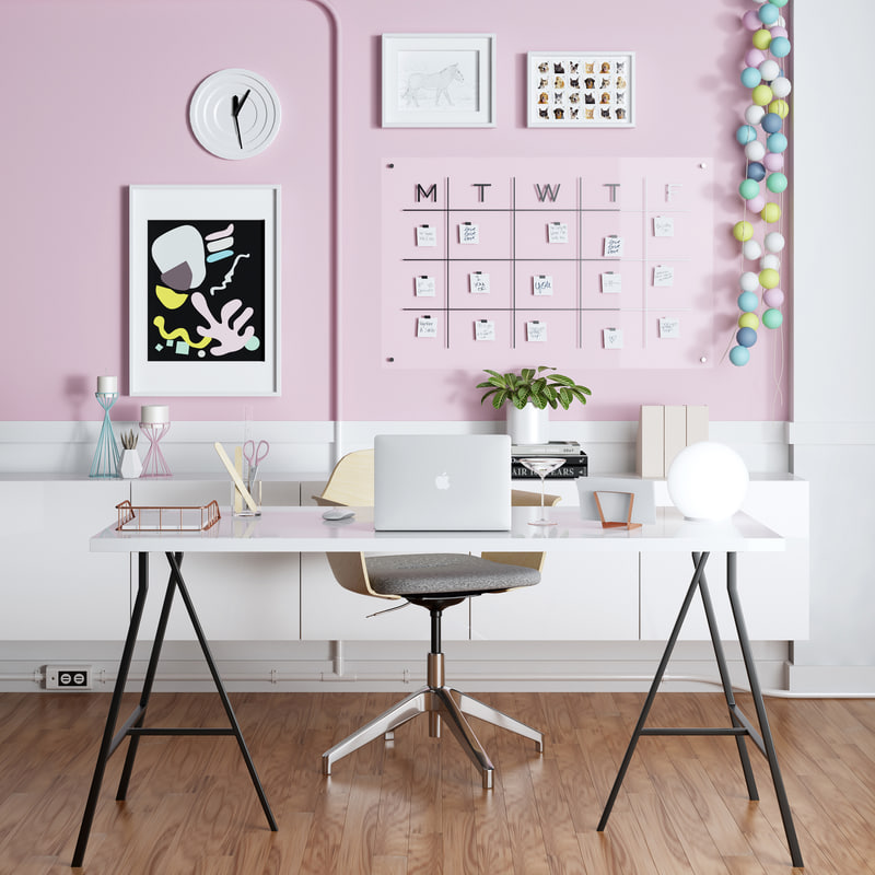 3D ikea home office