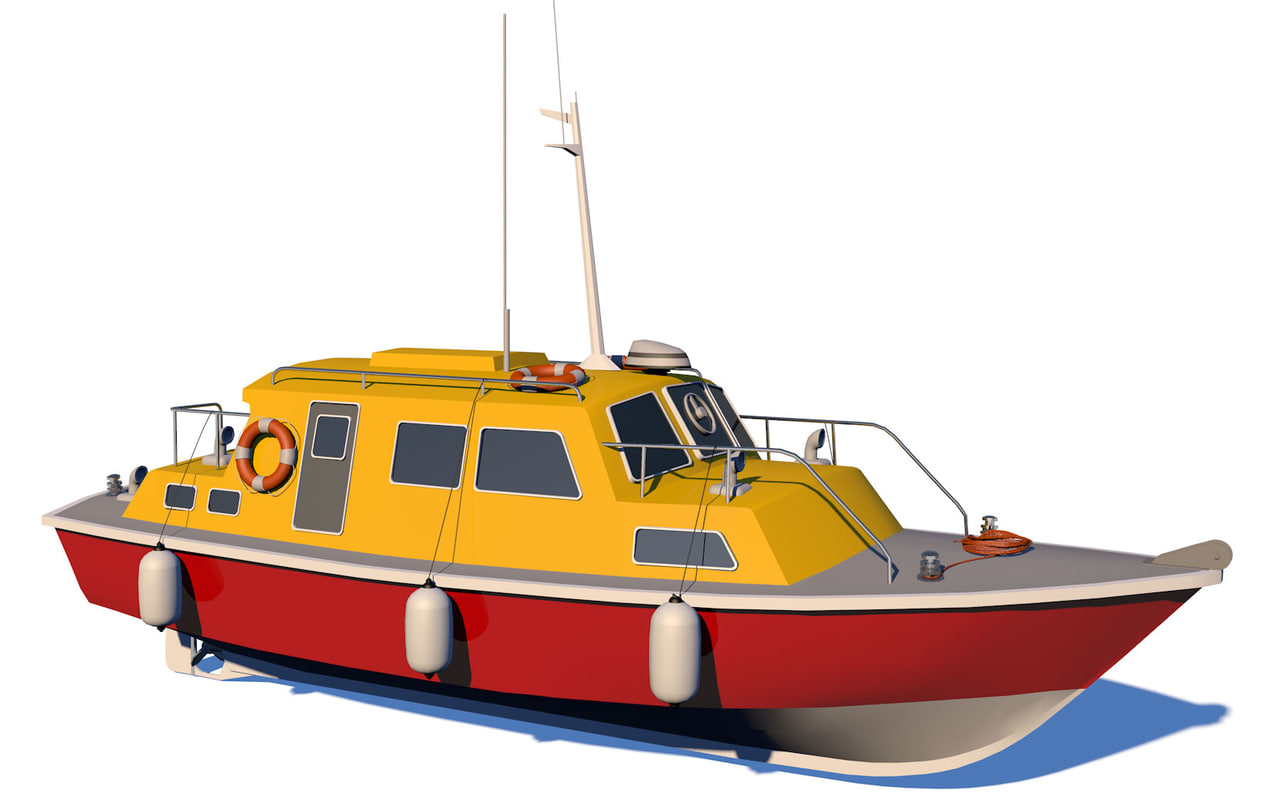 boat lifeboat 3D