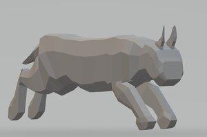 3D big cat