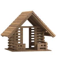 3D playground house 02