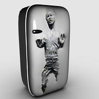 artistic fridge 3D model