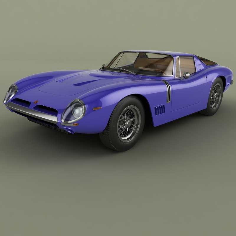 1967 bizzarrini gt 5300 3D