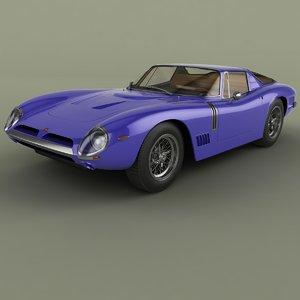 1967 bizzarrini gt 5300 3D