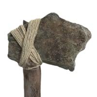 axe ax stone 3D model