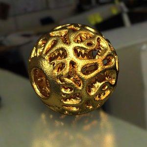 3D model jewelry charm pa