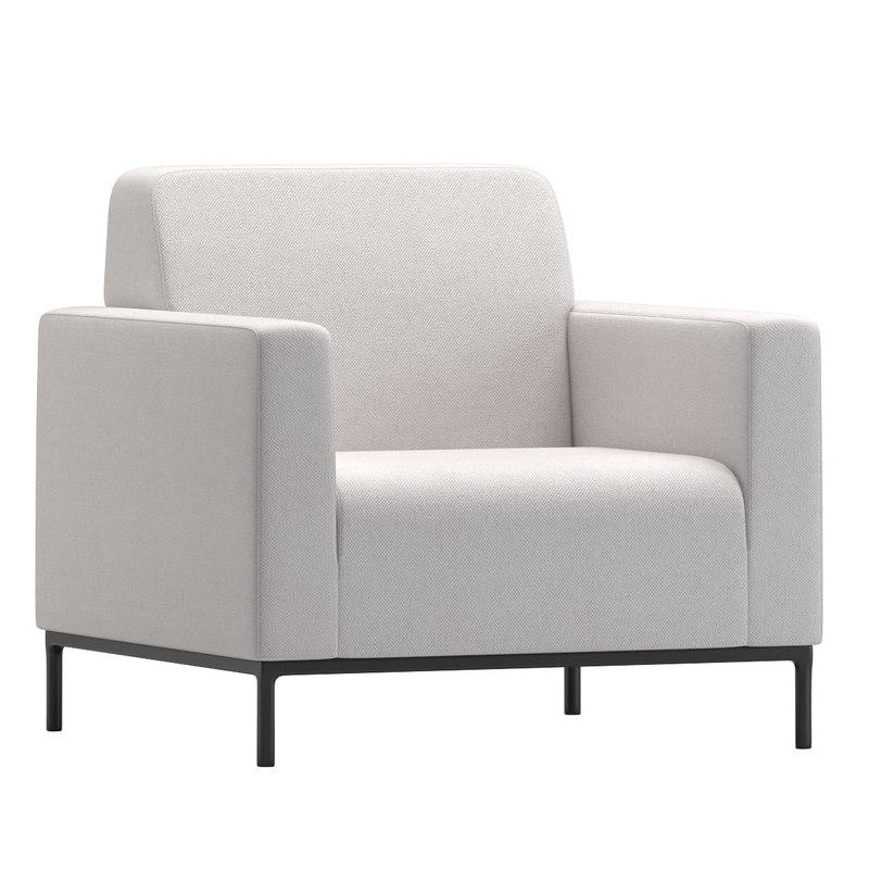 3D chrisophe delcourt lounge chair model